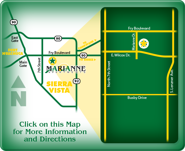 Marianne Apartments map: click here for directions