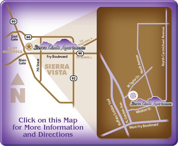 Sierra Linda Apartments: click here for directions