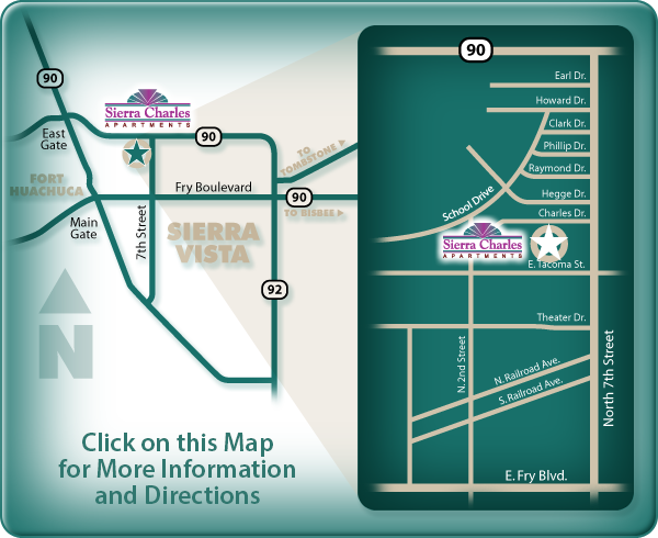 Sierra Charles Apartments: click here for directions