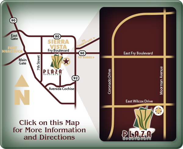 Plaza Apartments: click here for directions